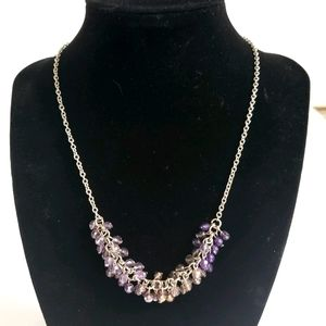 Coldwater Creek LAVENDER Beaded Necklace